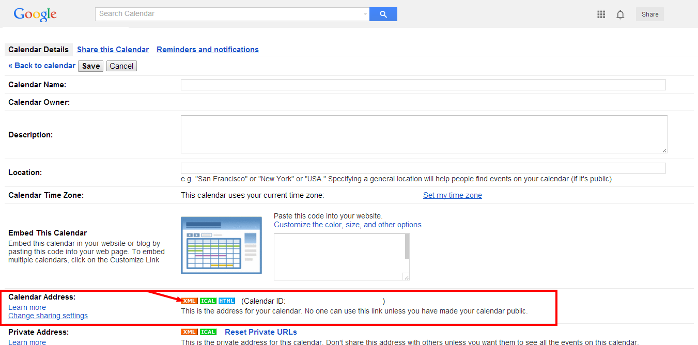 how to add to google calendar link