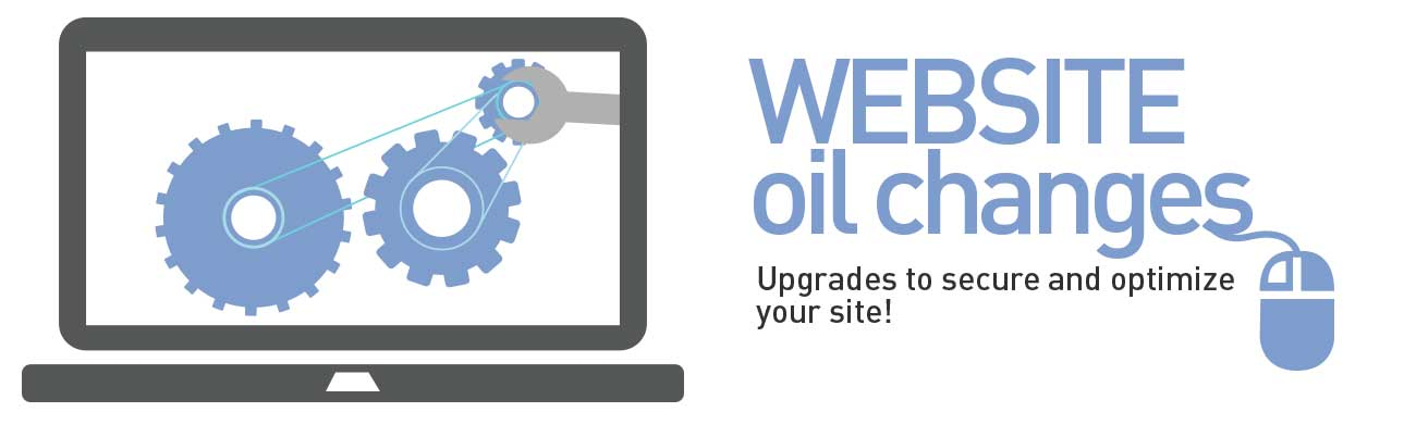 Joomla Website Oil Changes